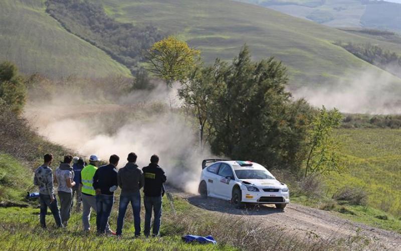 L'8° Rally della Val d'Orcia conquistato da Taddei – Gaspari con la Ford Focus Wrc della Trico