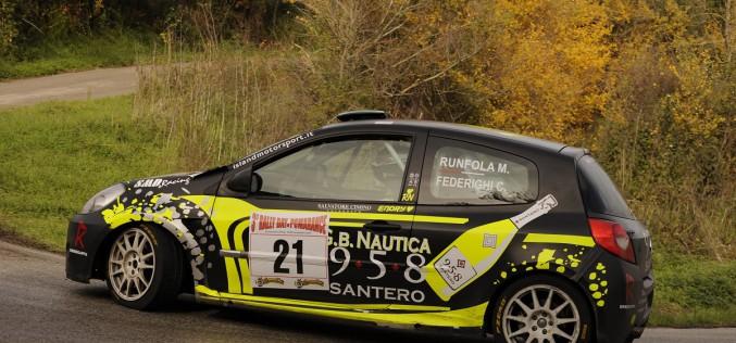 A Runfola-Fedrighi il 3° Rally Day di Pomarance