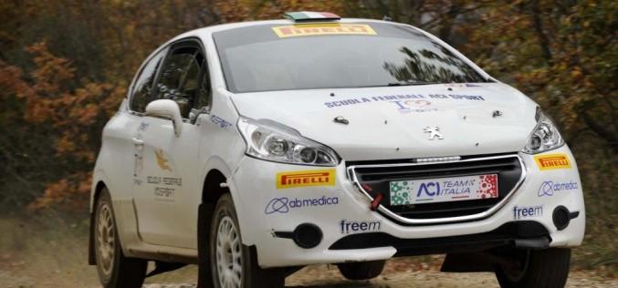Gianandrea Pisani è il migliore del Supercorso Federale Acisport Rally 2016