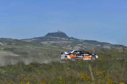 Al Rally della Val d'Orcia Giovanni Aloisi ha fatto esordire la Mitsubishi Lancer