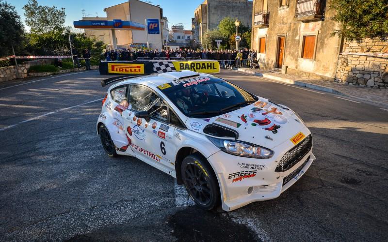 Di Benedetto con Concordia Motorsport sul podio a Sperlonga