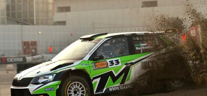 Max Rendina al via del 25° Rally Il Ciocchetto