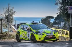 Vittoria per Andrea Minchella, in coppia con Daniele Renzetti all'8ª Rally Ronde di Sperlonga