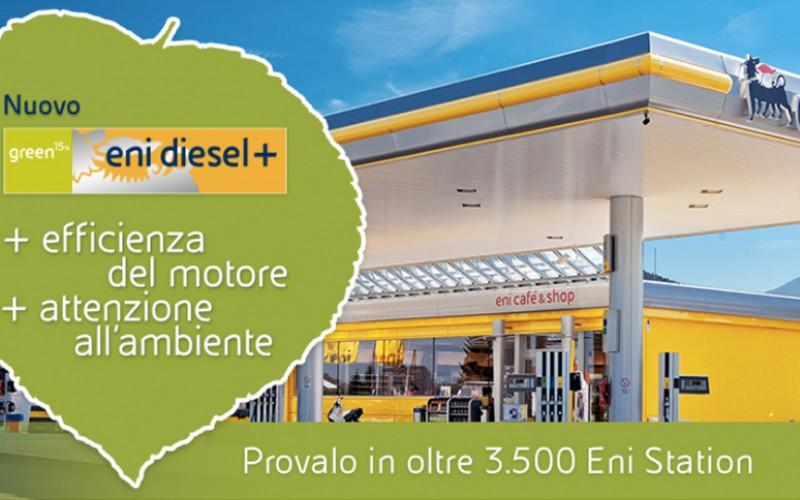 Attenzione ai consumi e alla sostenibilità grazie al nuovo carburante Eni Diesel+