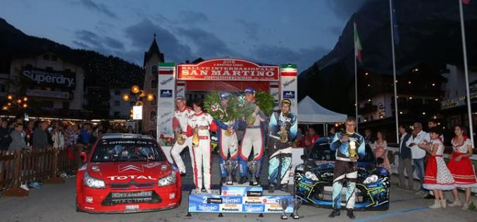 Campionato Italiano WRC. Vetrina tricolore a San Martino di Castrozza