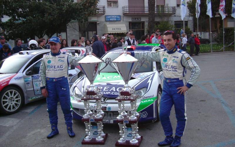 Jimmy Ghione testimonial e concorrente d'eccezione al Rally Internazionale Lirenas di Cassino