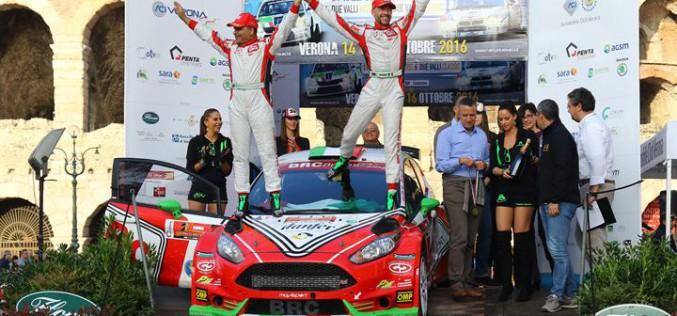 I campioni tricolori rallies protagonisti della premiazione alla Reggia di Caserta