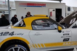 Riolo nel Trofeo Abarth 124 Rally con CST Sport