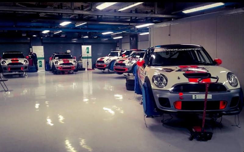 Elite Motorsport con Valsecchi e 5 Mini al 1° Rally Circuit di Franciacorta