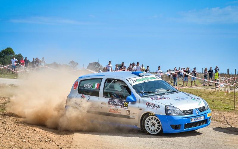 Federico Petracca apre la stagione della Casarano Rally Team prendendo parte al 1°Rally Circuit Daniel Bonara