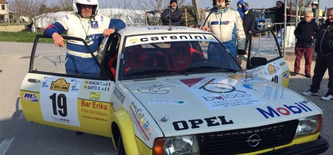 Sarto e Mancini al via del Rally di Adria
