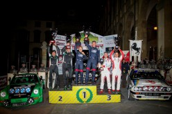 """Lucky"" e Fabrizia Pons primi all'Historic Rally Vallate Aretine"