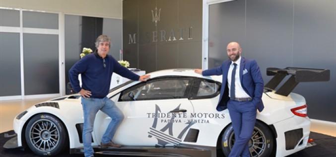 Una Maserati GT3 per le salite
