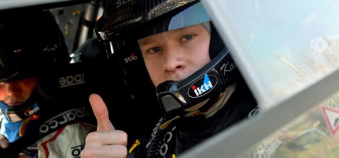 Pirelli protagonista a Sanremo a fianco del giovane pilota Rovanpera