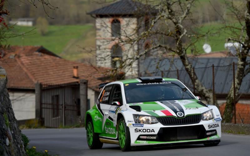Il Rallye di Sanremo l'obiettivo sportivo di ŠKODA nel prossimo weekend