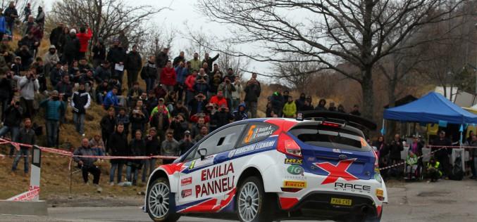 Antonio Rusce e Sauro Farnocchia subito a segno al Rally del Ciocco