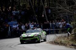 Trofeo Abarth 124 rally Selenia: a Sanremo doppietta dell'Abarth 124 rally in R-GT