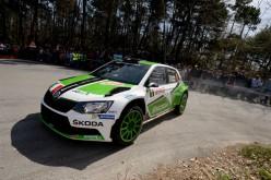Un doppio podio per la ŠKODA Fabia di Scandola-D'Amore nel 64° Rallye di Sanremo