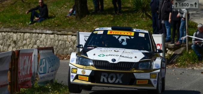 Luca Rossetti ed Eleonora Mori si aggiudicano il 7° Rally Internazionale Lirenas