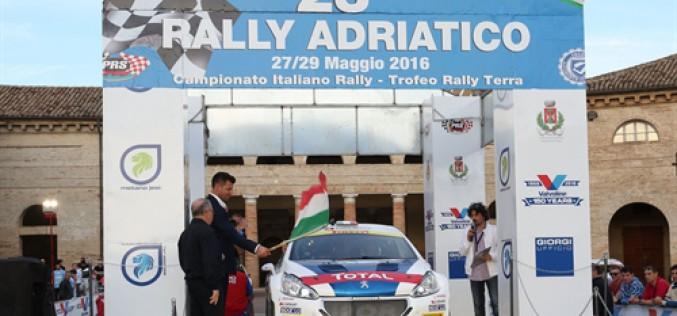 Il 24° Rally Adriatico si prepara a dare spettacolo