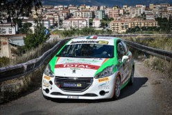 Peugeot Competition top 208: debutto sullo sterrato al Rally Adriatico