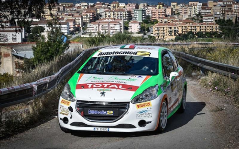 Peugeot Competition top 208: debutto sullo sterrato al Rally Adriatico