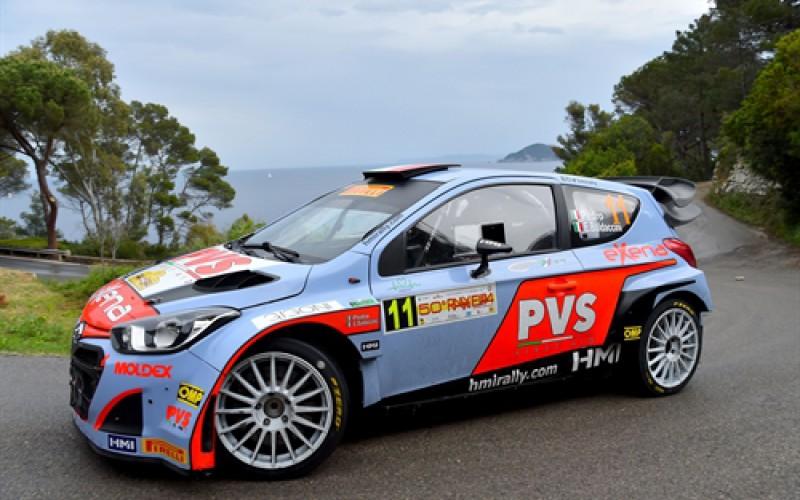 Rally Elba: Debutto poco fortunato per Pedro-Baldaccini su Hyundai i20 WRC
