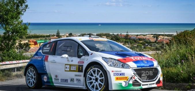 24°Rally Adriatico. Peugeot pronta per la prima gara su terra del 2017