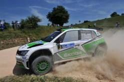 ŠKODA e Scandola sulla terra del 24° Rally dell'Adriatico per riconfermarsi al vertice
