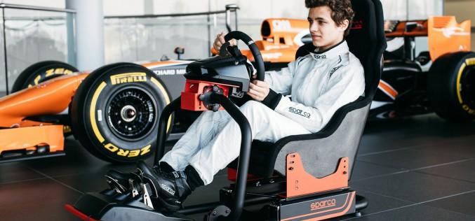 Sparco e McLaren insieme dal reale al virtuale