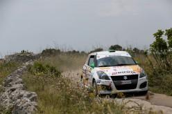 Stefano Strabello ancora al top. È secondo al 50° Rally del Salento nel Suzuki Rally Trophy 2017