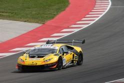 Simone Tempesta pronto a salire sulla Lamborghini Huracan del Petri Corse Motorsport nel prossimo appuntamento di Monza
