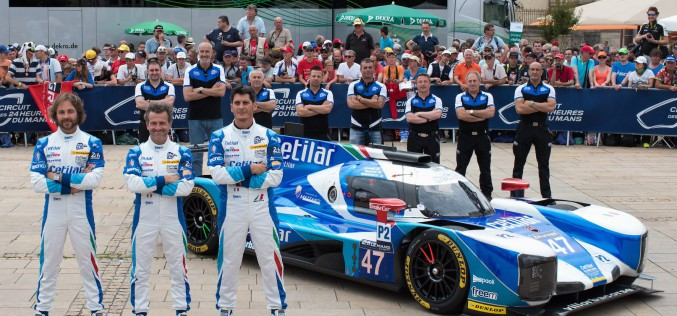 Cetilar Villorba Corse è pronta per la 24 Ore di Le Mans