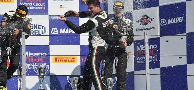 Lorenzo Veglia a Monza per il Campionato Italiano GT