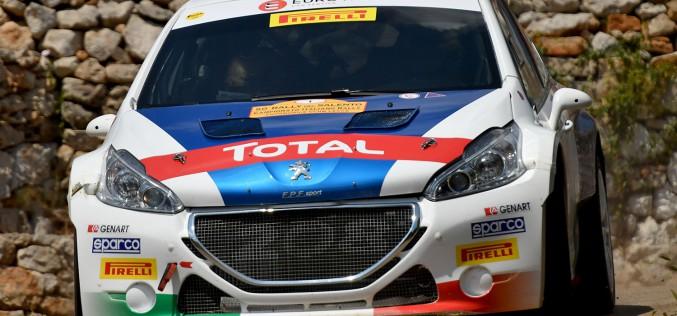 La tripletta di Paolo Andreucci e Anna Andreussi, Peugeot 208 T16 R5