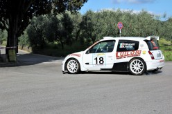 Susanna Mazzetti al via del Rally Alta Valdicecina