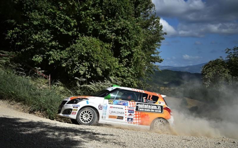 Stefano Strabello con un secondo posto al Rally di San Marino accorcia le distanze nel Suzuki Rally Trophy