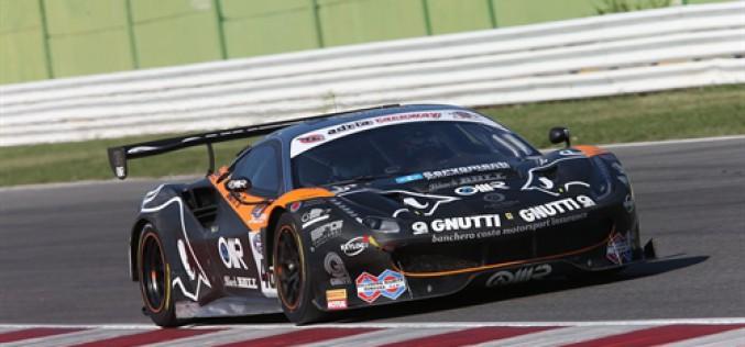 E' di Stefano Gai (Ferrari 488) il miglior tempo nei test di Imola