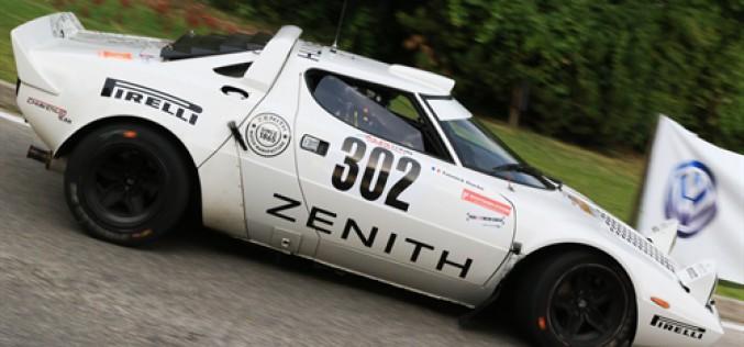 Erik Comas e Yannick Roche primi al traguardo della 22ª edizione del Rally Alpi Orientali Historic
