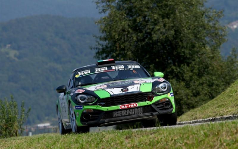 Fabrizio Andolfi jr si aggiudica il Trofeo Abarth 124 rally Selenia con 2 gare d'anticipo