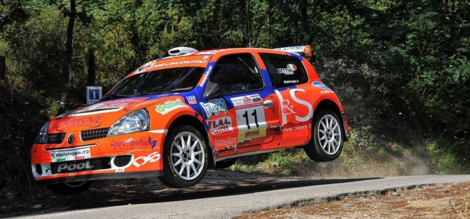 Al Rally di Reggello, un Bettini all'attacco