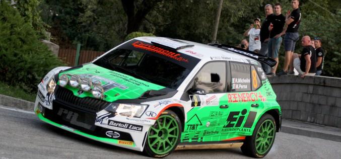 Al Rally del Friuli Michelini ritrova il feeling con la vettura