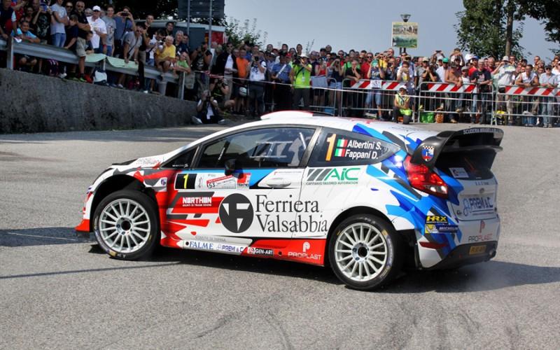 Rally Friuli Venezia Giulia: doppietta Michelin Rally Cup, poker Stefano Albertini