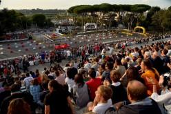 Prova spettacolo all'Eur e Grandi numeri per la partenza del Rally di Roma Capitale