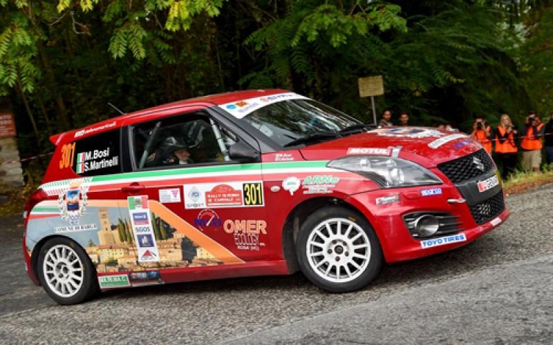 Stefano Martinelli ad un passo dal tricolore rally R1