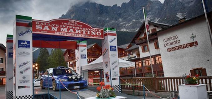 Rallye San Martino, tutto pronto per la carica dei 104