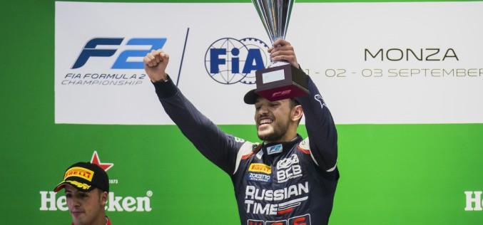 Luca Ghiotto si riprende la sua vittoria