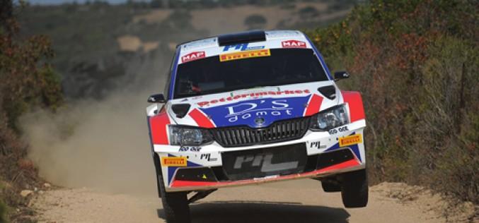 Dettori-Pisano, Skoda Fabia R5, vincono il Rally In Costa Smeralda