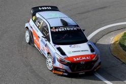 Al 36° Rally Aci Como, Fontana è costretto al ritiro per una foratura