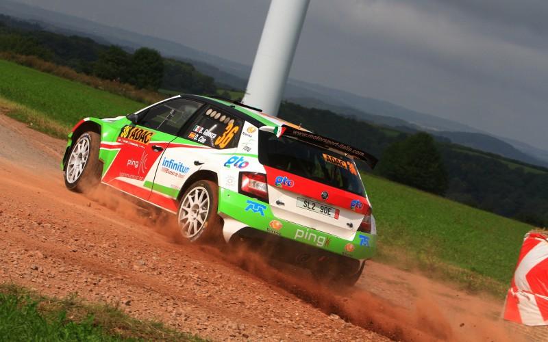 Motorsport Italia al Rally di Spagna con Benito Guerra